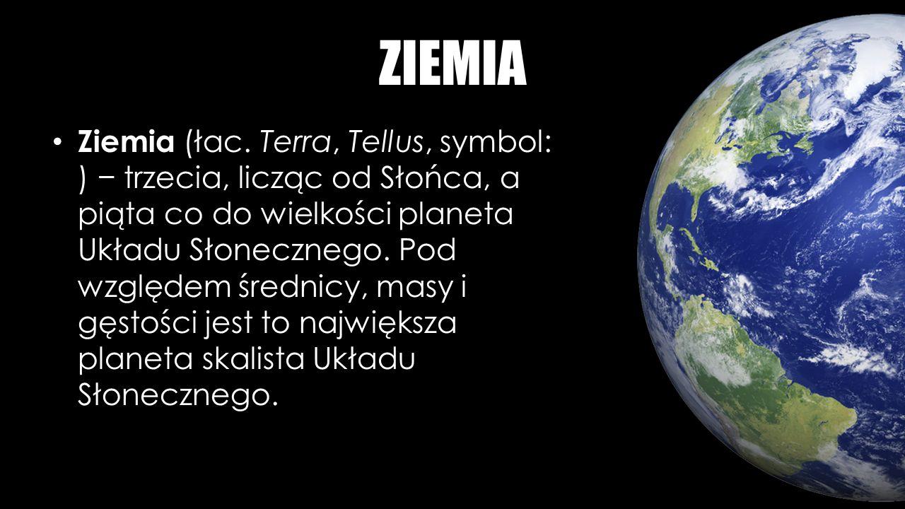 ZIEMIA Ziemia (łac.
