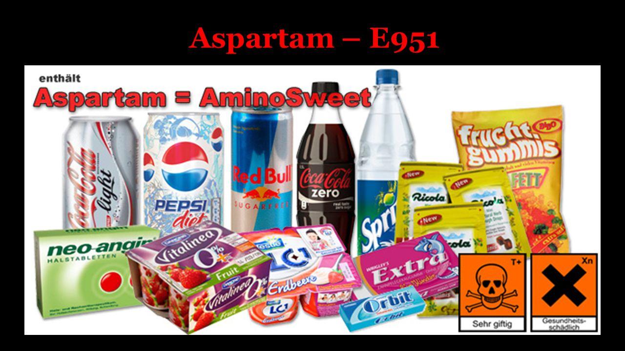 Aspartam – E951