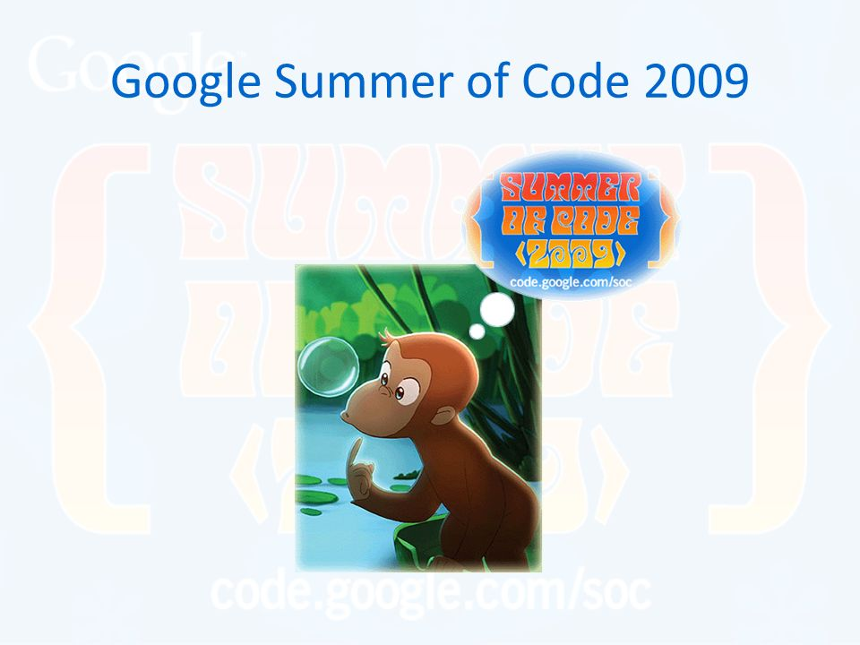 Google Summer of Code 2009