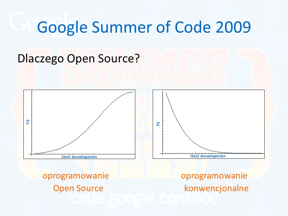Google Summer of Code 2009 Dlaczego Open Source.