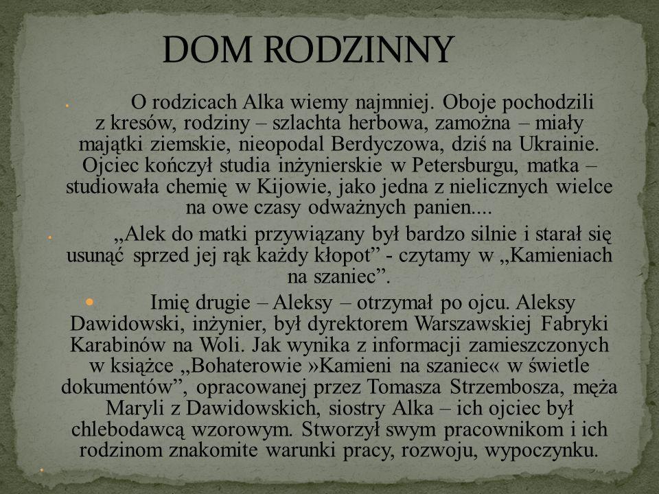 To jedyna nazwa, której Aleksander Kamiński nie zmienił w powojennych wydaniach, kiedy już przywrócił czołowym bohaterom ich prawdziwe imiona: Rudy, Alek i Zośka.