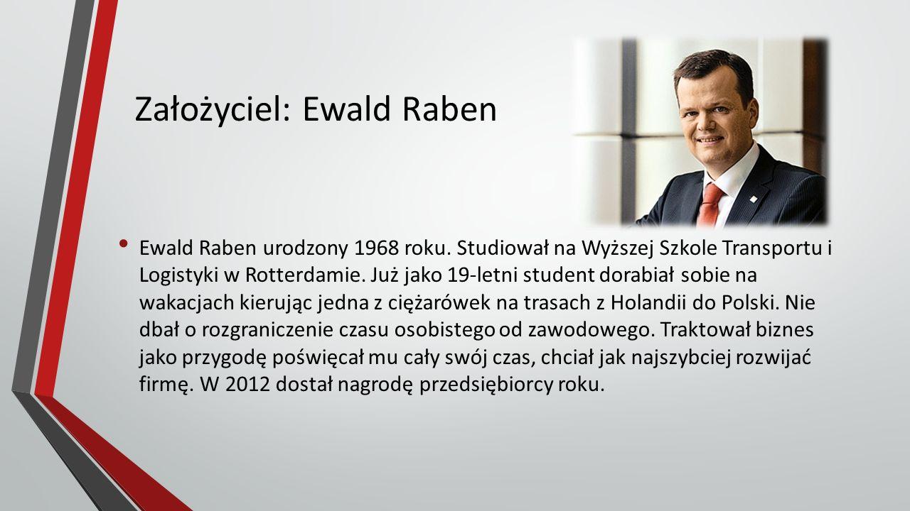 Założyciel: Ewald Raben Ewald Raben urodzony 1968 roku.
