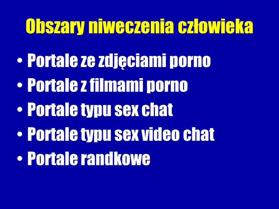 Obszary niweczenia człowieka Portale ze zdjęciami porno Portale z filmami porno Portale typu sex chat Portale typu sex video chat Portale randkowe
