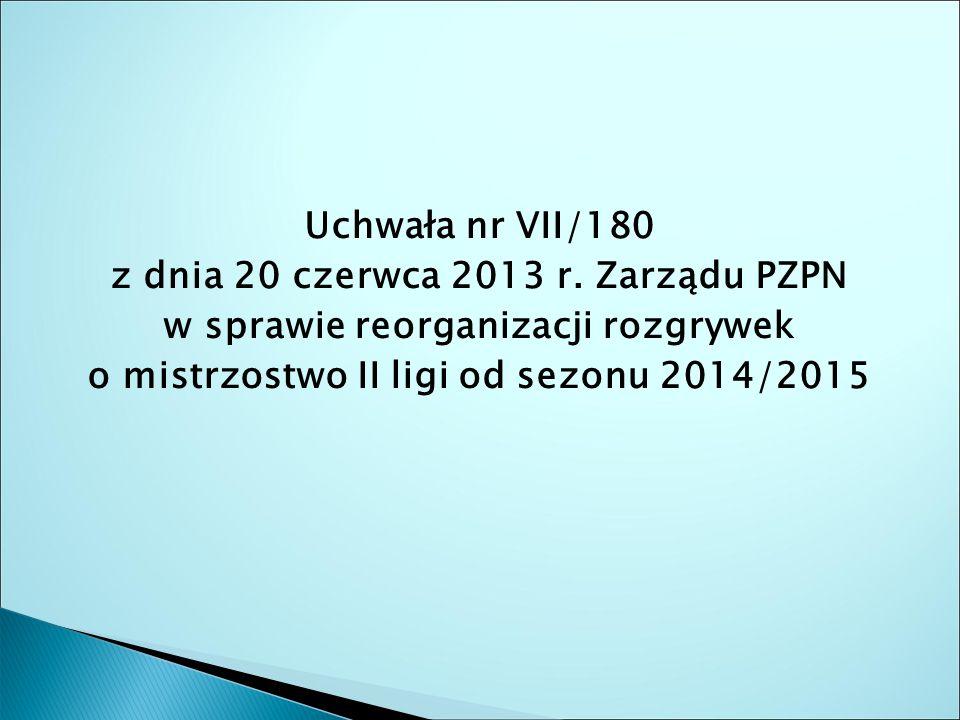 Uchwała nr VII/180 z dnia 20 czerwca 2013 r.