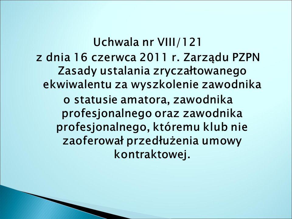 Uchwala nr VIII/121 z dnia 16 czerwca 2011 r.