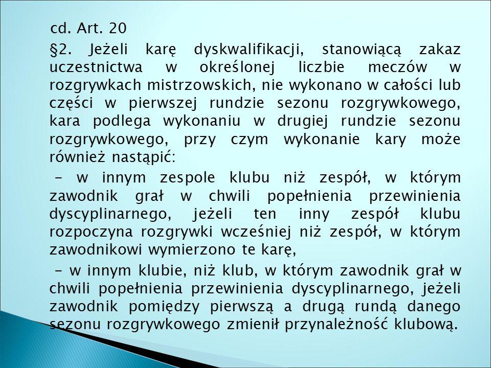 cd. Art. 20 §2.