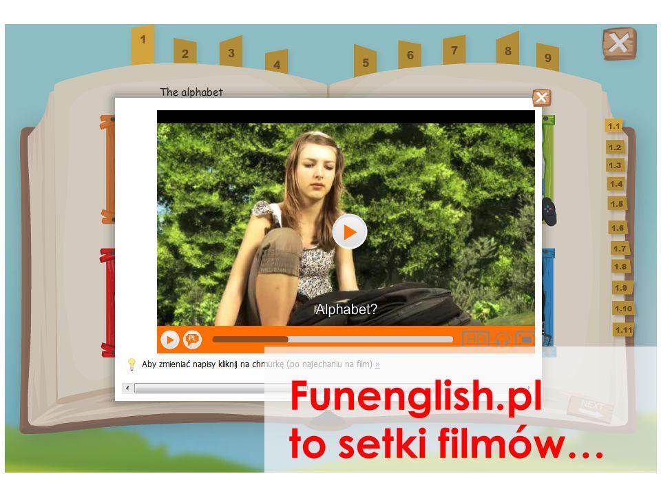 Funenglish to setki filmów… fotolekcje…