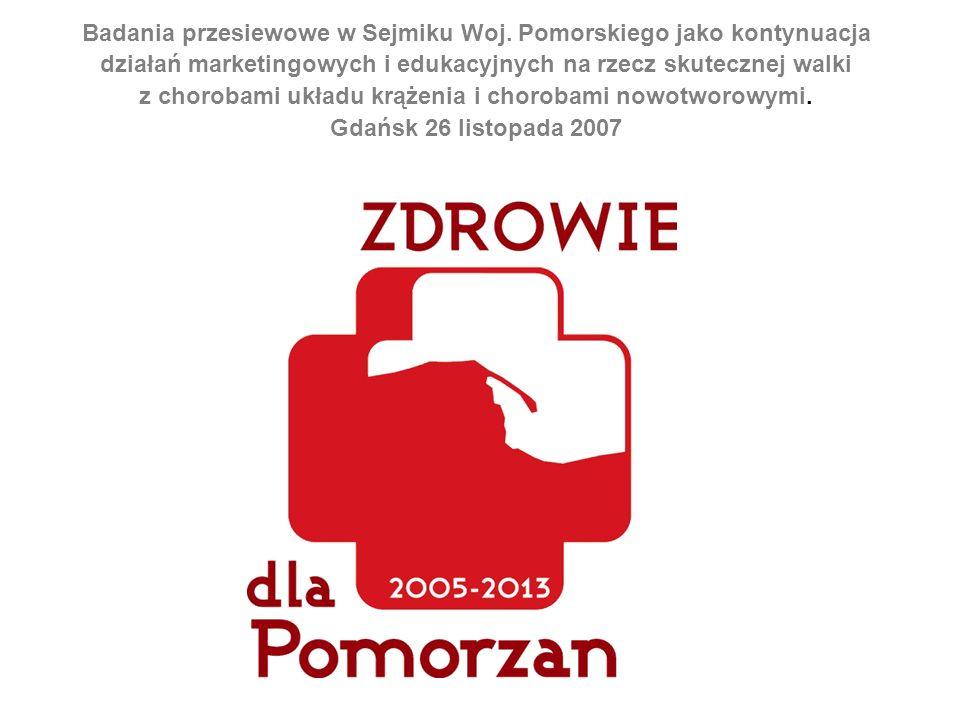 Badania przesiewowe w Sejmiku Woj.