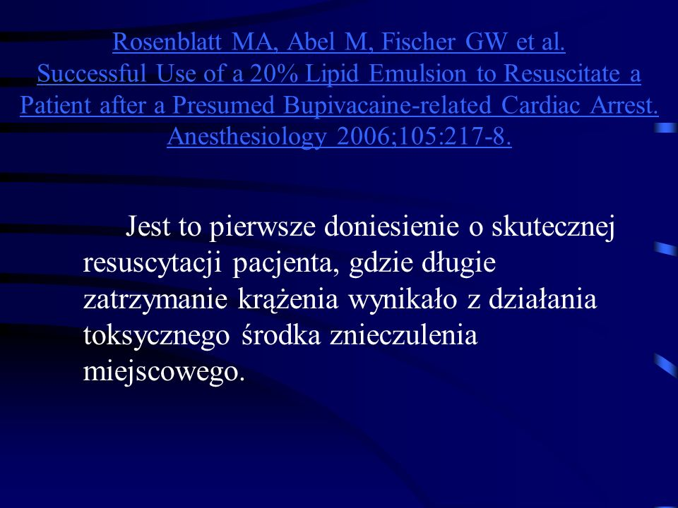Rosenblatt MA, Abel M, Fischer GW et al.
