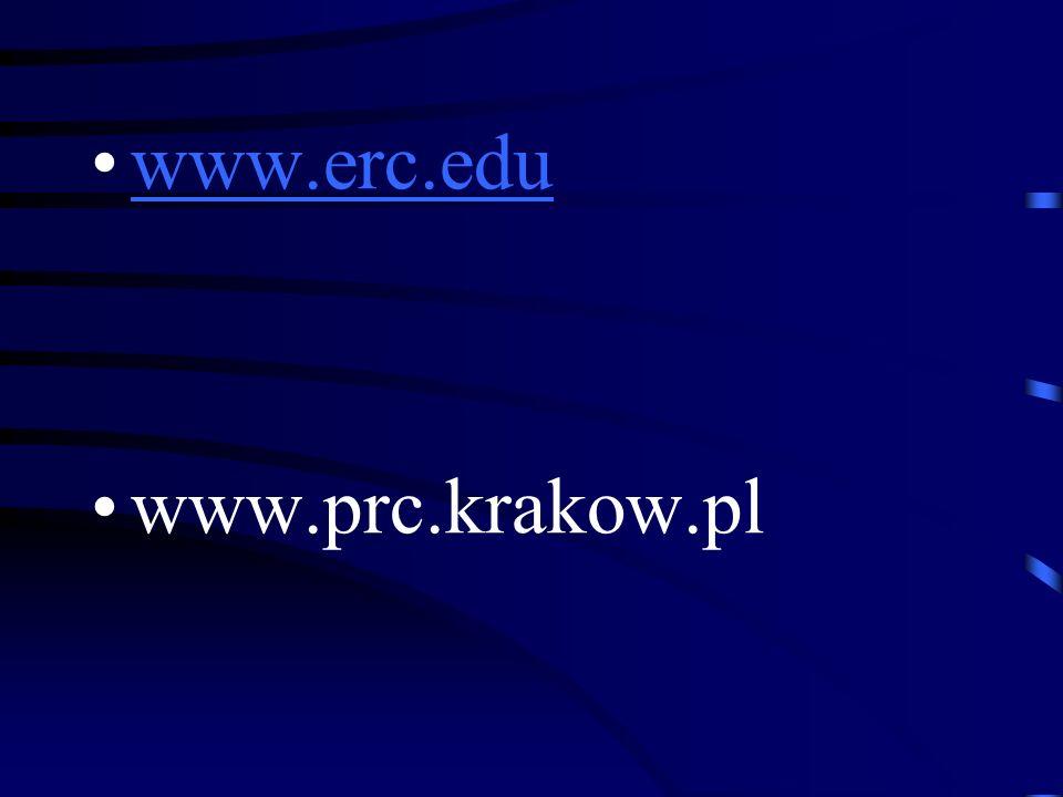 www.erc.edu www.prc.krakow.pl