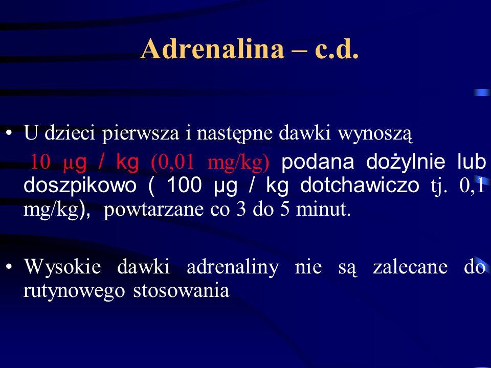 Adrenalina – c.d.