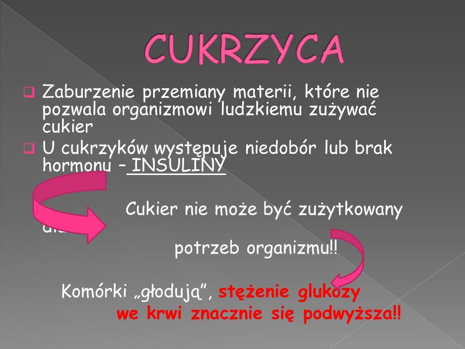  W Polsce na cukrzycę choruję około 2 milionów osób .