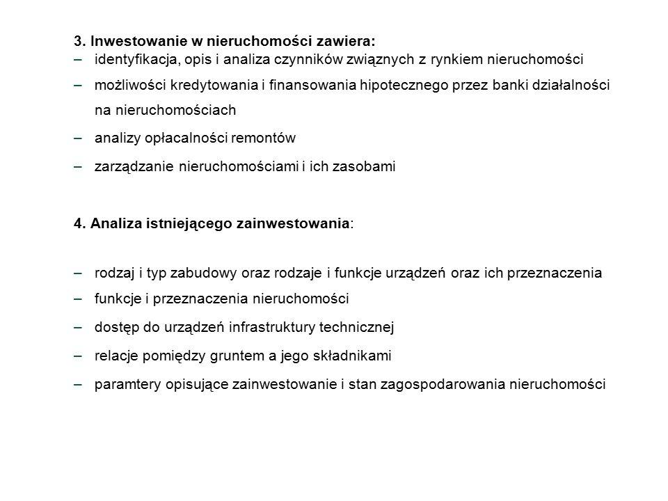 Informacja o podmiocie Informacja o przedmiocie Informacja o cenach i warościach Źródło Danych Księgi Wieczyste Kataster Nieruchomości Plan Miejscowy Geodezyjna Ew.