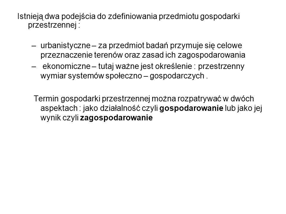 Związek Miast Polskich powołał w 1939 roku Komisję Urbanistyczną, która w swoich wytycznych określiła zasady prawidłowego rozwoju i racjonalnej zabudowy miast, z uwzględnieniem poniższych warunków: 1)Posiadanie przez miasto rozległych własnych terenów jest podstawowym warunkiem prawidłowego rozwoju i rozbudowy miast, kształtowanie ceny placów i mieszkań, warunków mieszkaniowych, zdrowia, obronności i wszelskich urządzeń użyteczności publicznej, zwłaszcza, gdy uwzględni się wymagania rozporządzenia Rady Ministrów z dnia 29 kwietnia 1938 roku o przygotowaniu w czasie pokoju obrony przeciwlotniczej i przeciwgazowej.