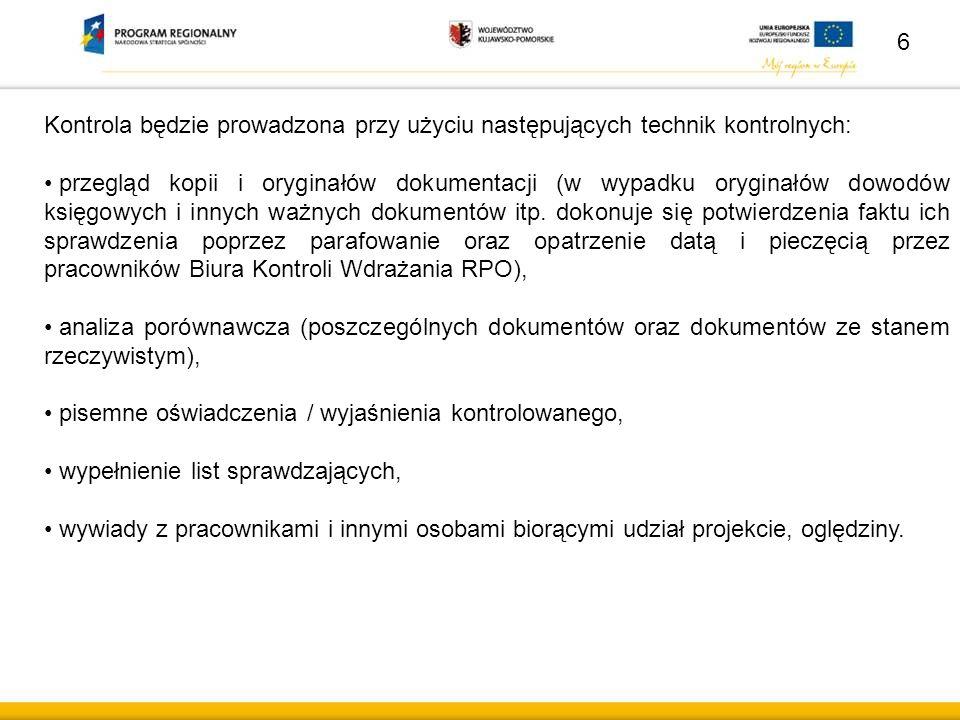 47 POSTANOWIENIA KOŃCOWE Wytyczne, stanowiące załącznik do uchwały Zarządu Województwa Kujawsko- Pomorskiego zmieniającej uchwałę w sprawie przyjęcia Wytycznych w sprawie realizowania zamówień współfinansowanych ze środków Europejskiego Funduszu Rozwoju Regionalnego, w stosunku do których beneficjenci nie są zobowiązani do stosowania ustawy Prawo zamówień publicznych Nr 34/487/10 z dnia 29 kwietnia 2010 r.