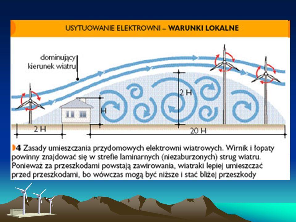 Tak duże turbiny wiatrowe wymagają jednak szczególnie dobrych warunków wiatrowych i rozległych niezabudowanych terenów. Nie wszędzie występują takie w