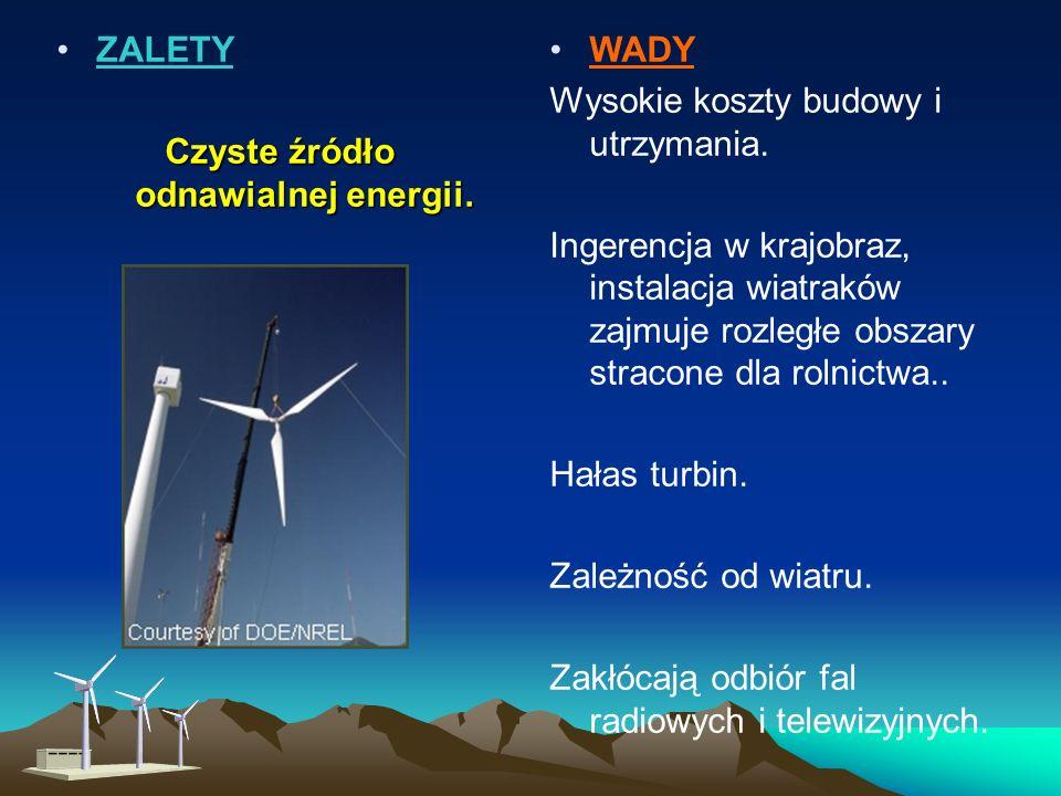 Małe turbiny wiatrowe można z powodzeniem wykorzystywać: na jachtach i łódkach, do podświetlania tablic informacyjnych nocą, do zasilania systemów syg