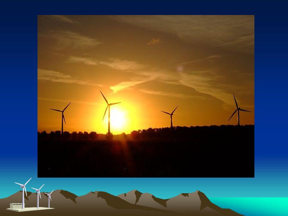 Elektrownia wiatrowa - definicja to zespół urządzeń produkujących energię elektryczną, wykorzystujących do tego turbiny wiatrowe. Energia elektryczna