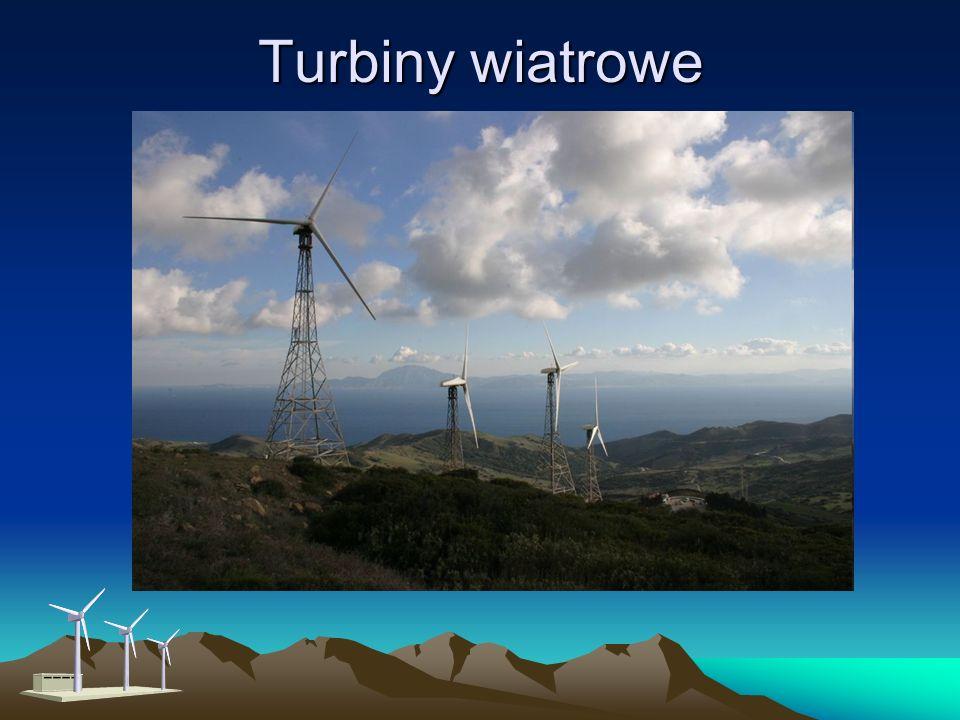 Duże turbiny wiatrowe: Turbiny te sprawdzają się zwłaszcza: na terenach o mniej korzystnych warunkach wiatrowych, gdzie potrzebne są niewielkie ilości energii elektrycznej, na dalekiej północy, gdzie ilość światła jest niewielka i małe turbiny wiatrowe efektywniej niż ogniwa fotowoltaiczne zasilają stacje telefonii komórkowej, w warunkach ekstremalnych, przy bardzo silnych wiatrach, w skrajnych temperaturach.