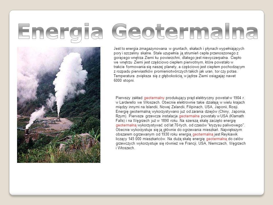 Jest to energia zmagazynowana w gruntach, skałach i płynach wypełniających pory i szczeliny skalne.
