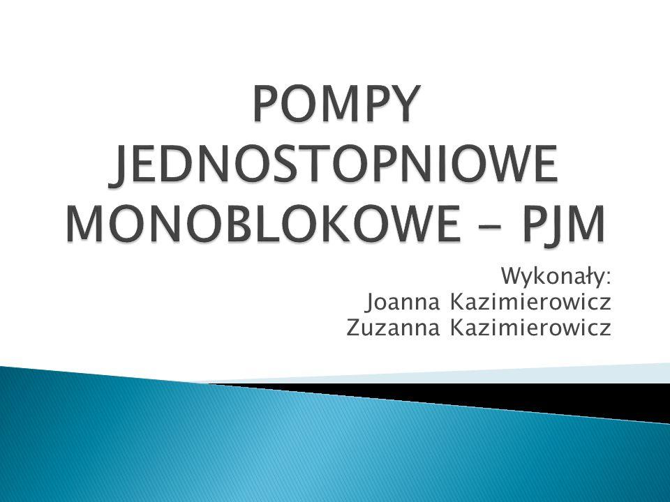 Wykonały: Joanna Kazimierowicz Zuzanna Kazimierowicz
