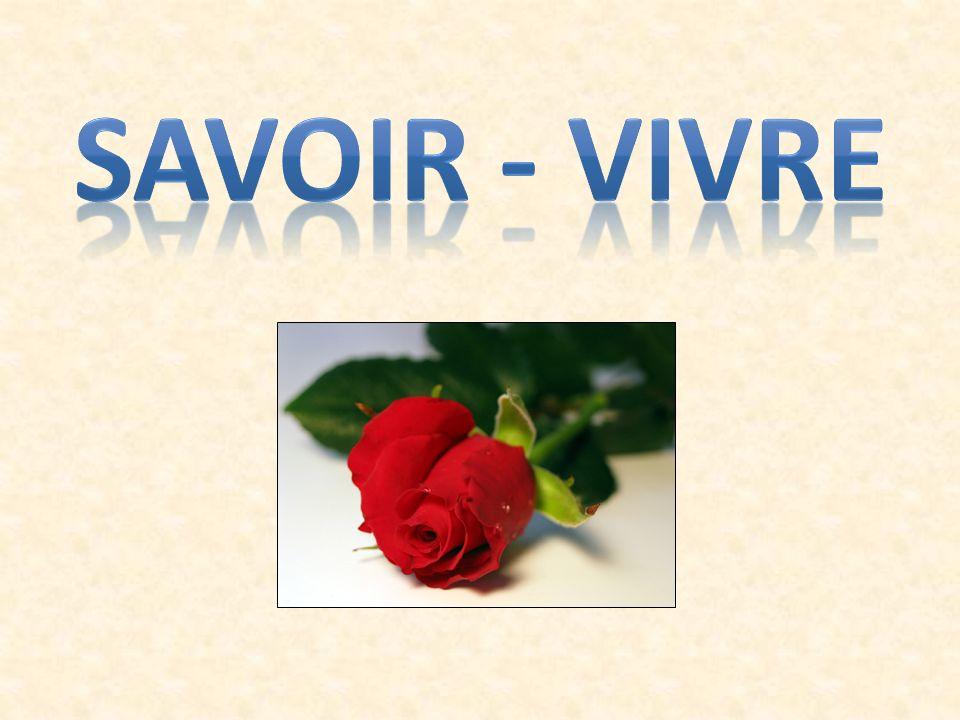 Formy dobrego zachowania zwane z francuskiego jako savoir - vivre ...