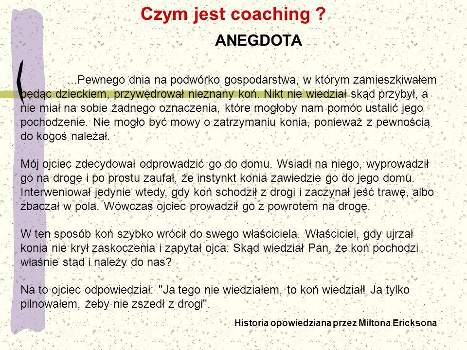 Jakich zasad powinien przestrzegać coach?