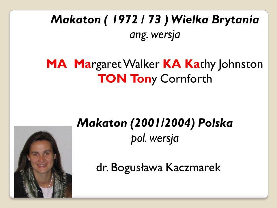 Makaton ( 1972 / 73 ) Wielka Brytania ang.