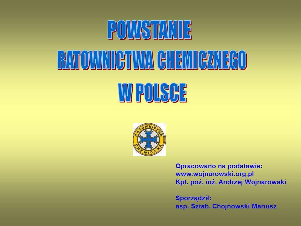 Opracowano na podstawie: www.wojnarowski.org.pl Kpt.