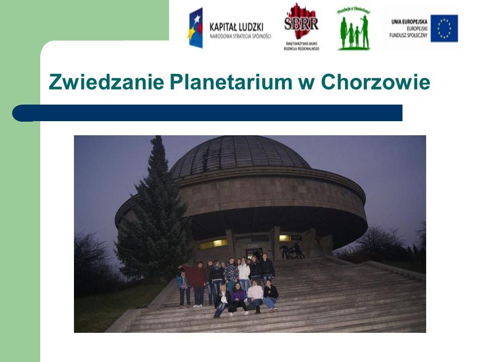 Zwiedzanie Planetarium w Chorzowie