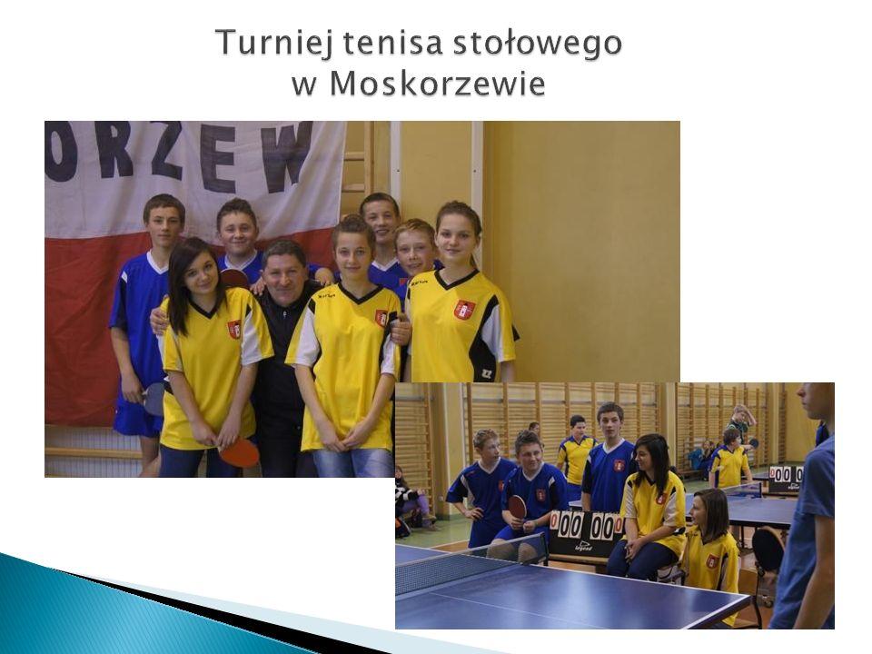 Turniej tenisa stołowego w Moskorzewie