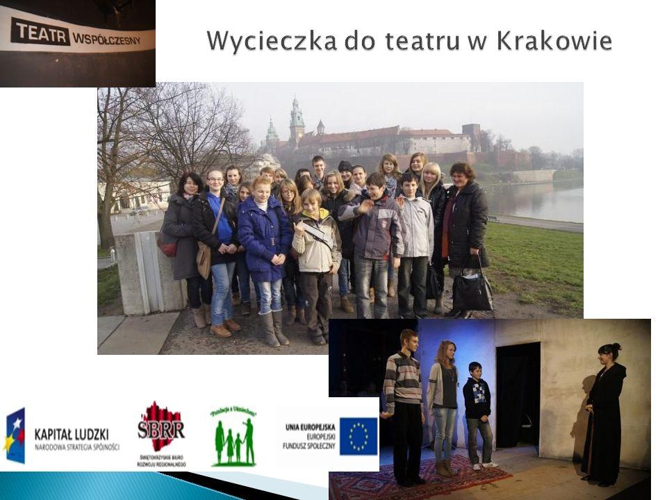 Wycieczka do teatru w Krakowie