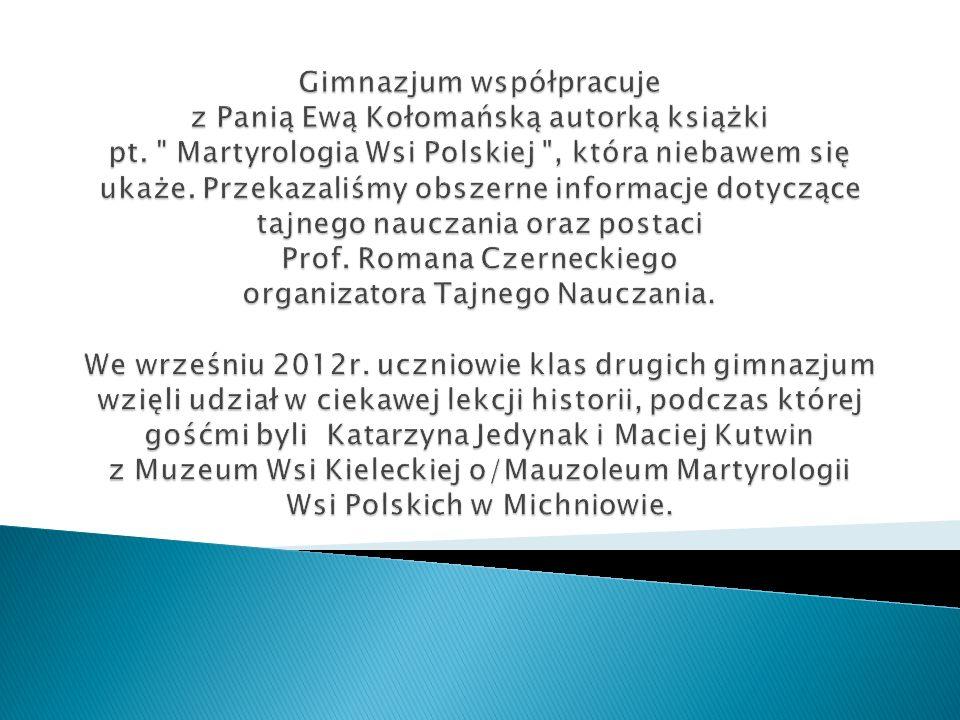 Spotkanie z koordynatorami Edukacyjnej Fundacji Czerneckich