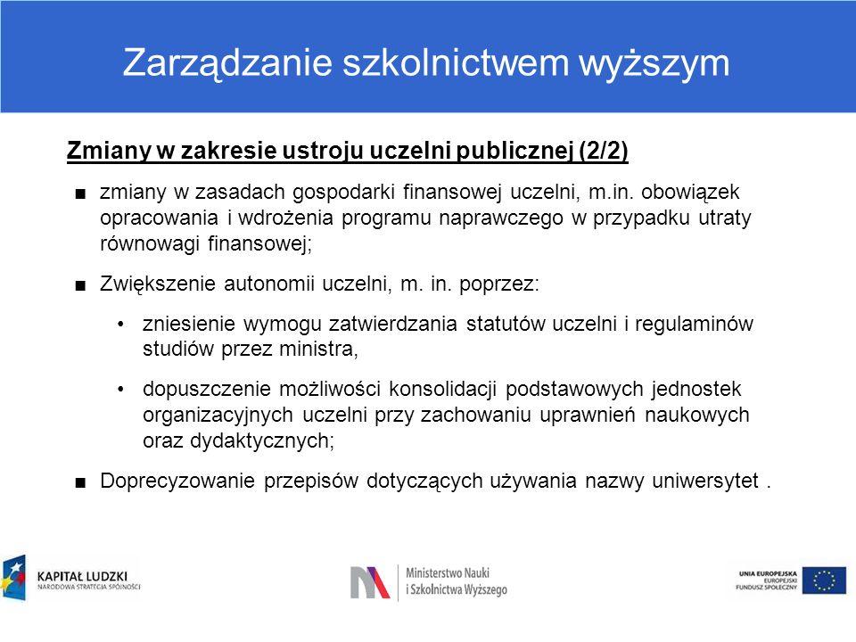 Zarządzanie szkolnictwem wyższym Pracownicy uczelni: -Nauczyciele akademiccy, -Pracownicy niebędący nauczycielami akademickimi.