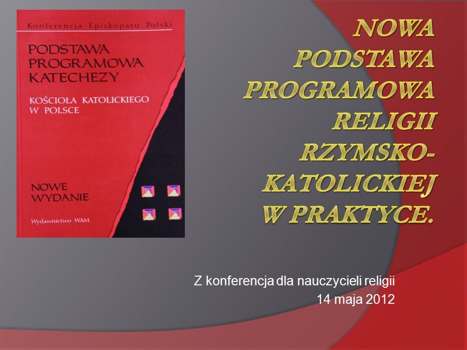 Z konferencja dla nauczycieli religii 14 maja 2012