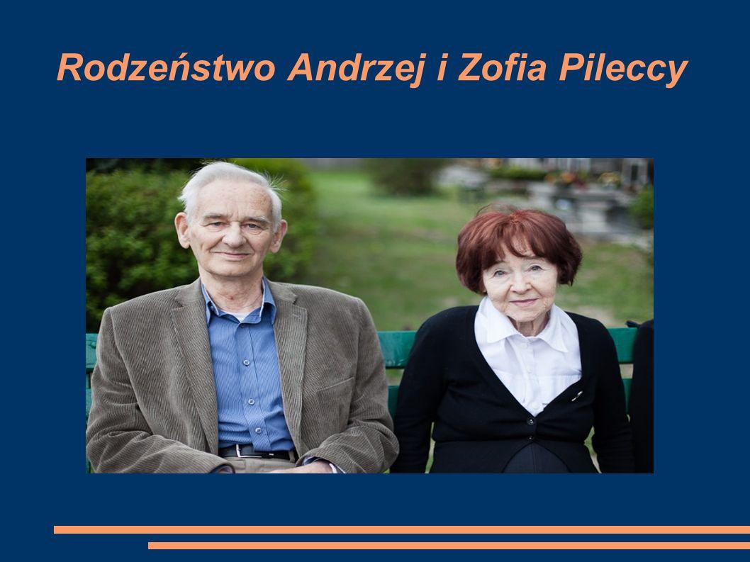 Rodzeństwo Andrzej i Zofia Pileccy