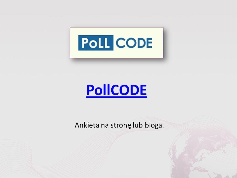 PollCODE Ankieta na stronę lub bloga.