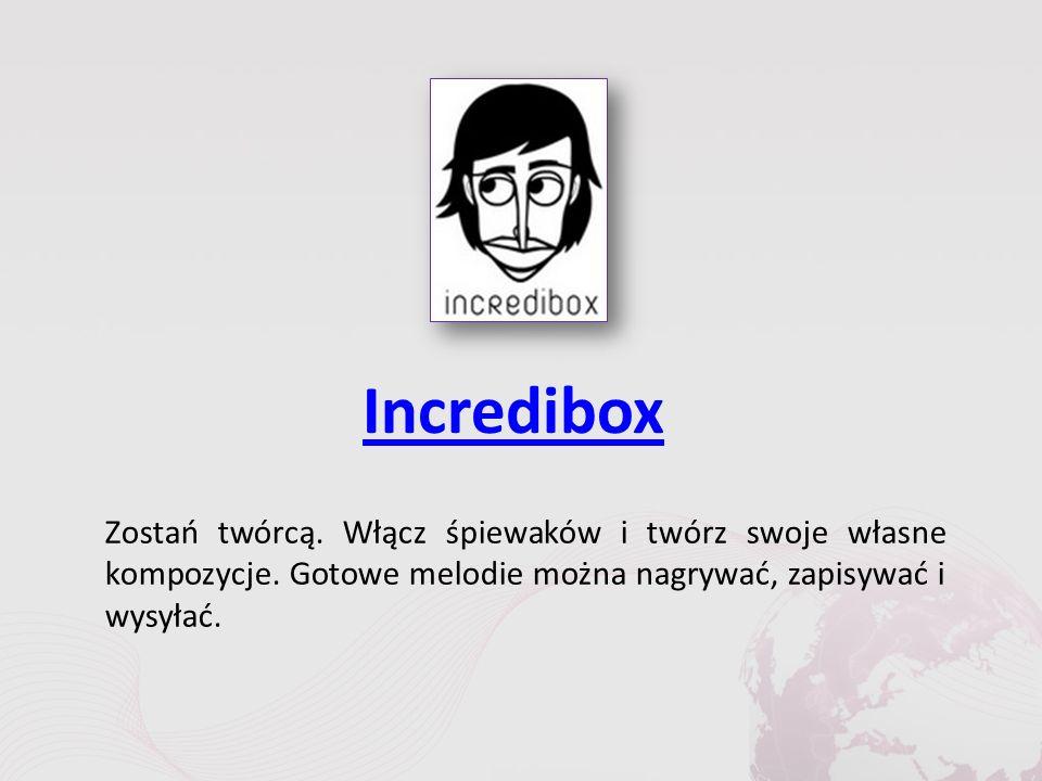 Incredibox Zostań twórcą. Włącz śpiewaków i twórz swoje własne kompozycje.