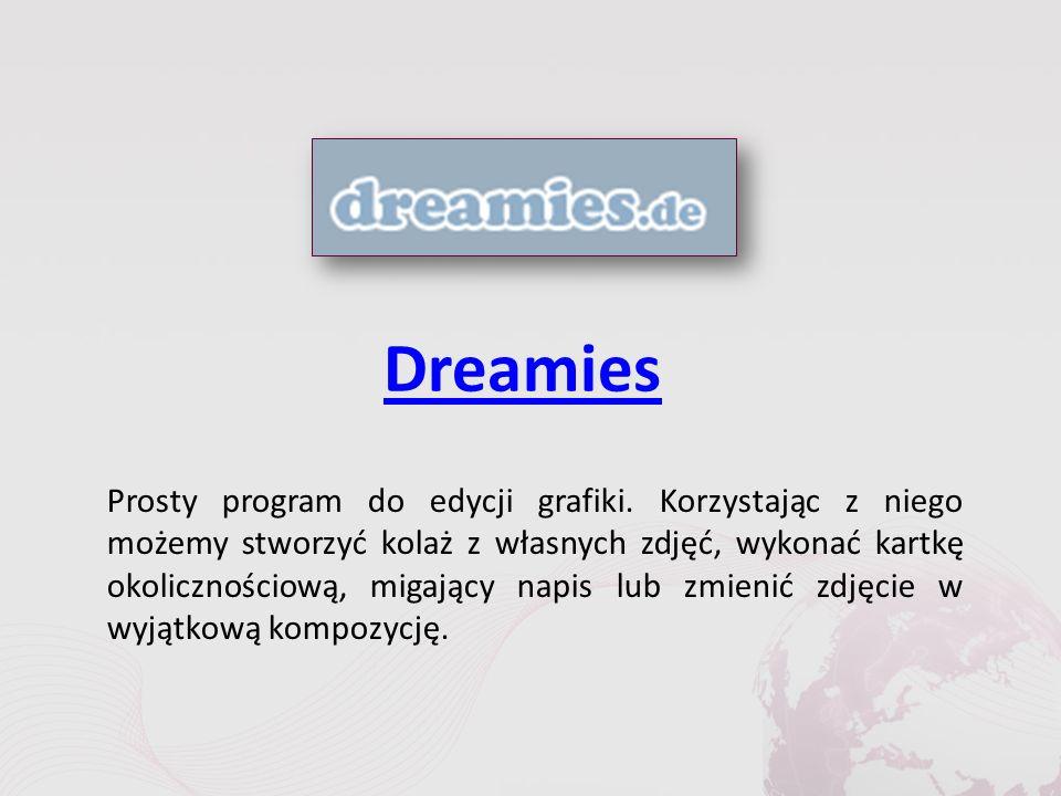 Dreamies Prosty program do edycji grafiki.