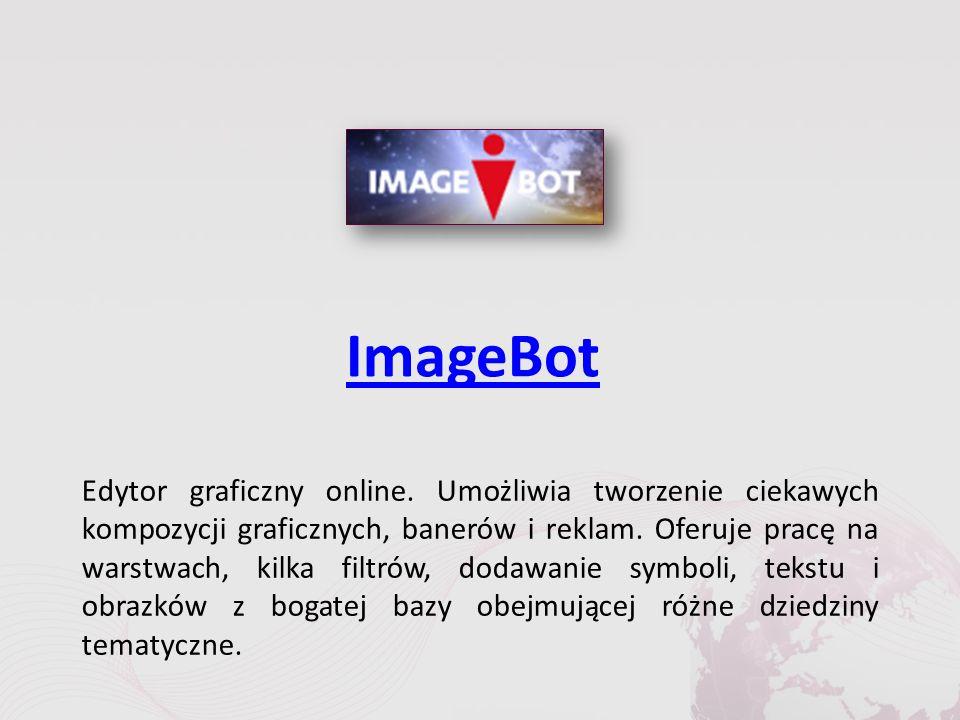 ImageBot Edytor graficzny online.