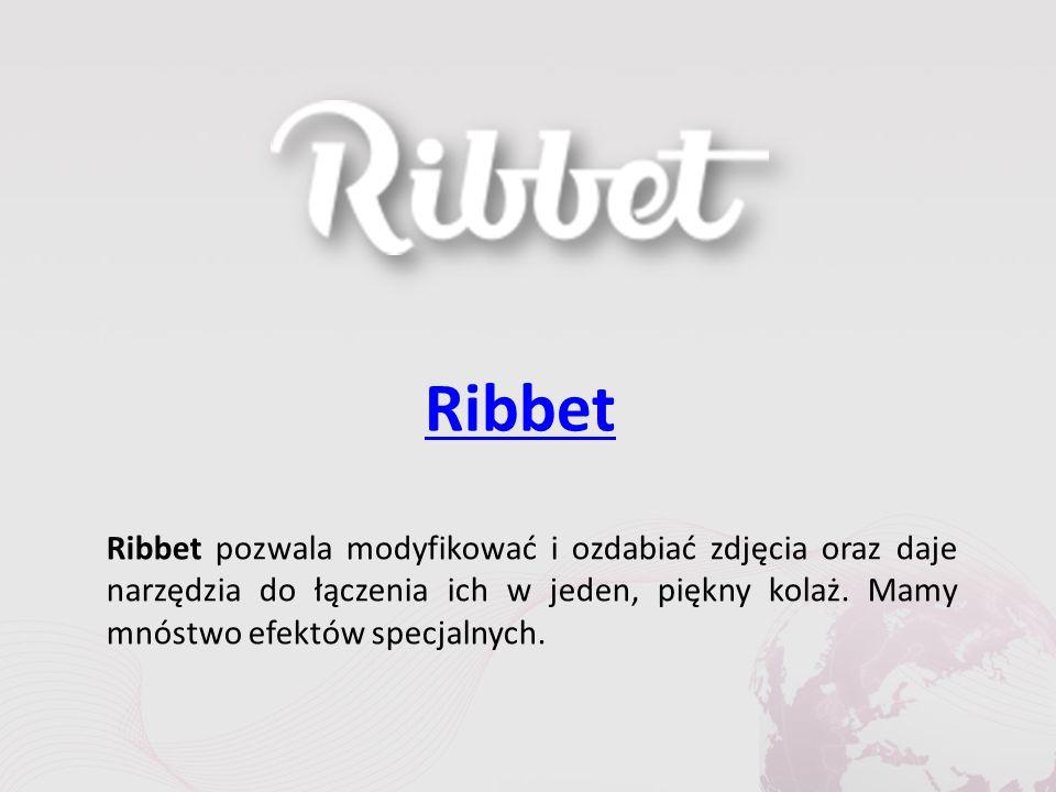 Ribbet Ribbet pozwala modyfikować i ozdabiać zdjęcia oraz daje narzędzia do łączenia ich w jeden, piękny kolaż.