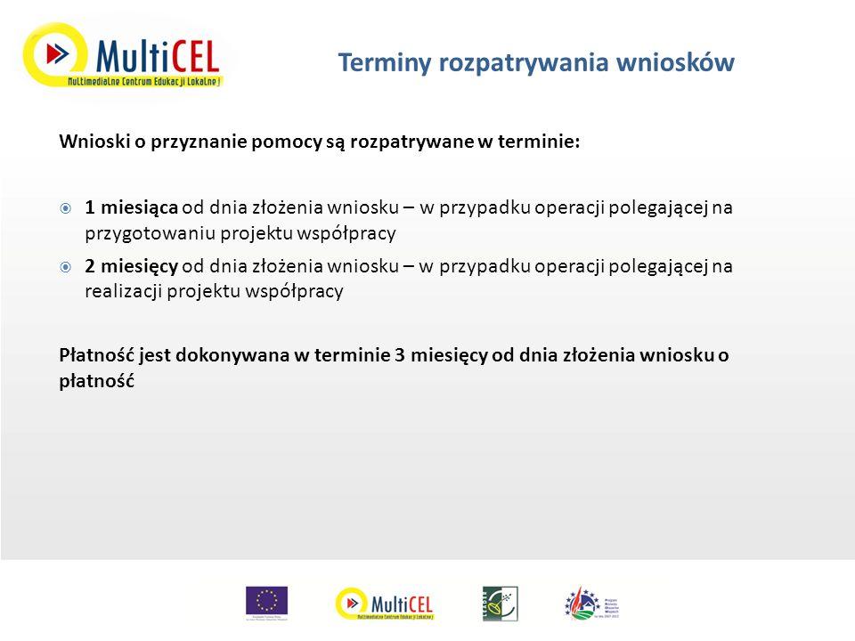 Zasady określania celów operacji we wniosku o przyznanie pomocy (możliwości dokonywania zmian w tym zakresie) oraz ich weryfikacja na etapie autoryzacji płatności.