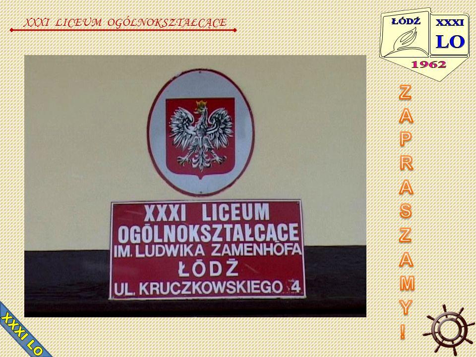 Nasz Patron Genialny twórca języka Esperanto, Ludwik Zamenhof XXXI LICEUM OGÓLNOKSZTAŁCĄCE