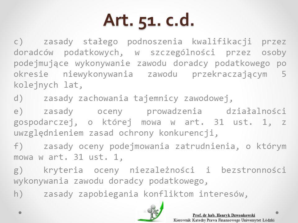 Art. 51. c.d.