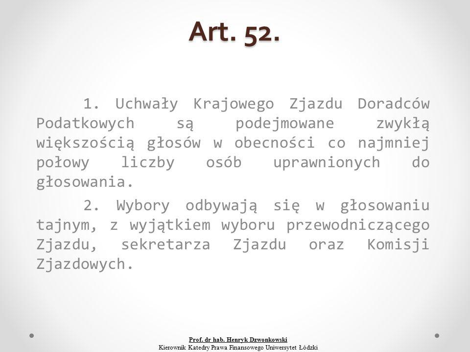 Art. 52. 1.