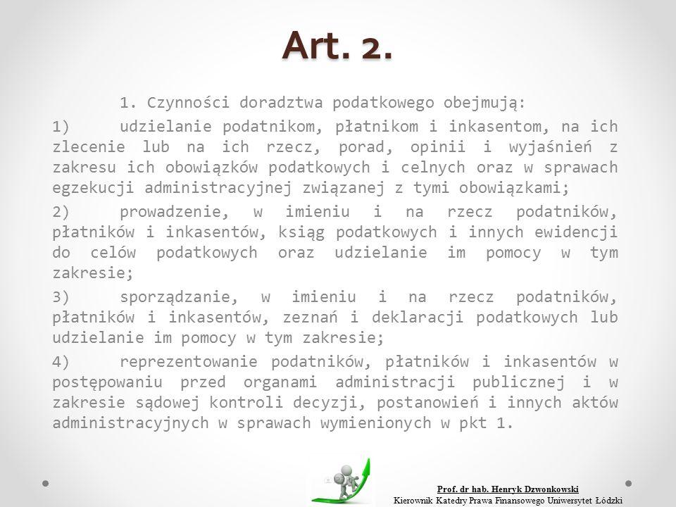 Art. 2. 1.