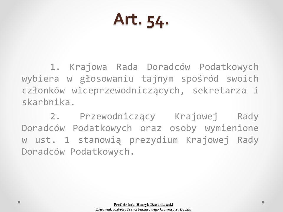 Art. 54. 1.