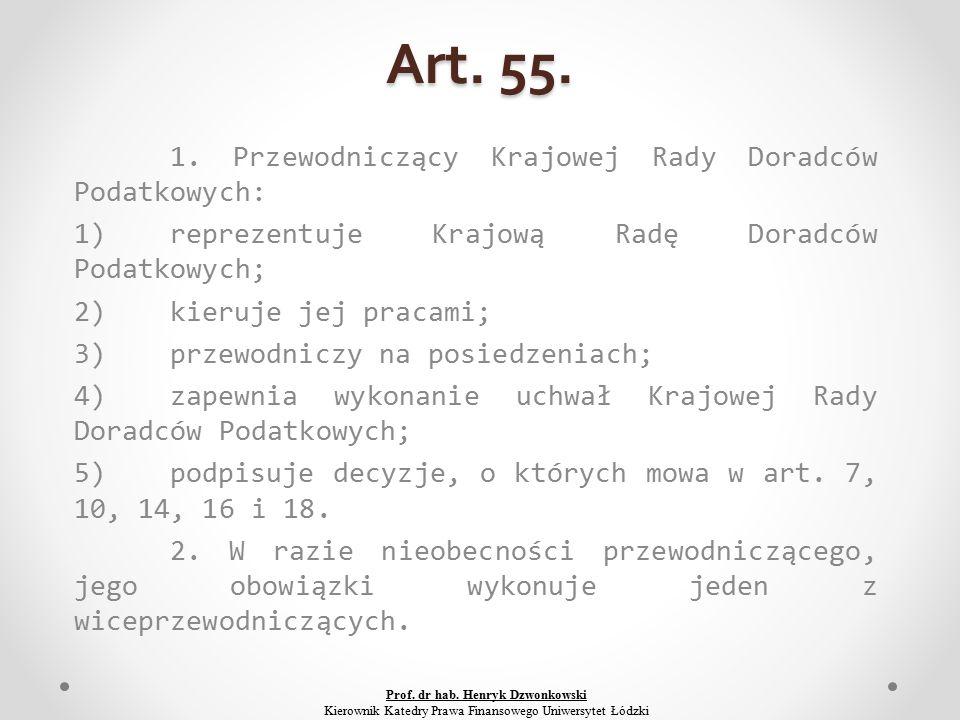 Art. 55. 1.