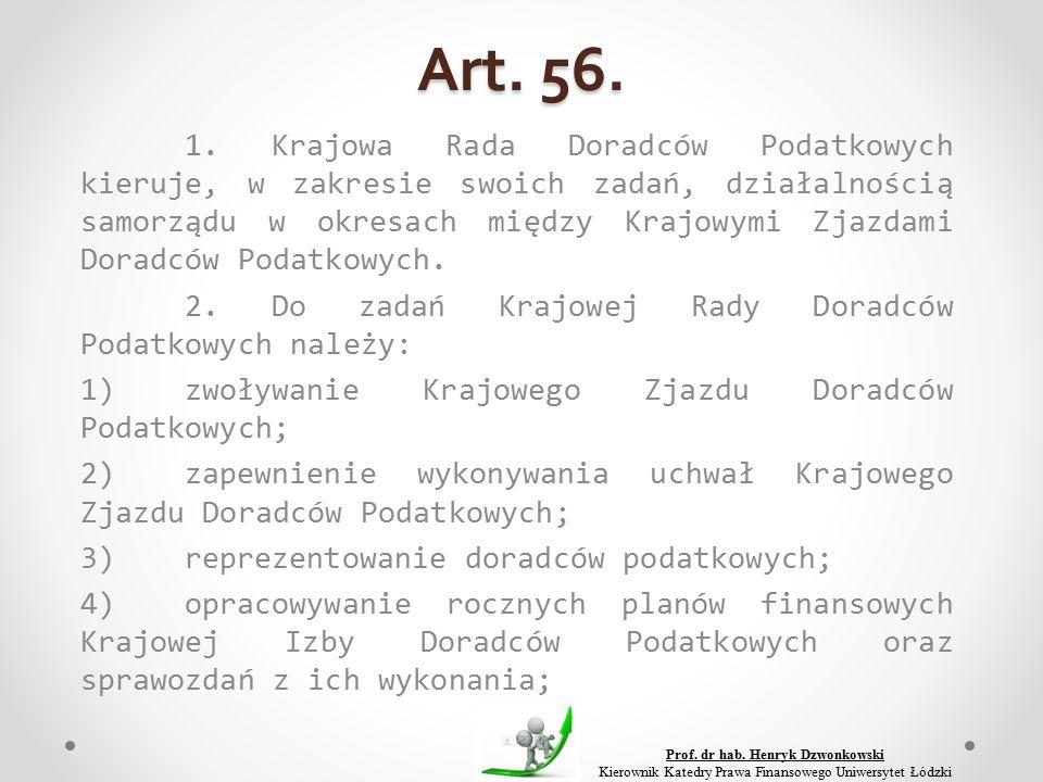 Art. 56. 1.
