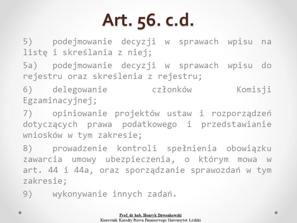 Art. 56. c.d.